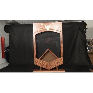 Morgan House US Navy / USCG MCPO Shadow Box