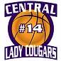 Customized Car Decal - Central Sports