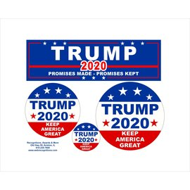 Trump Decal Set -            (2 for $20.00)