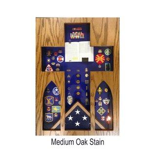 Morgan House Chaplain Shadow Box 3' x 5' Flag Area