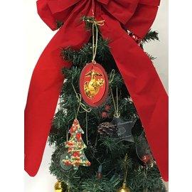 Ornament - 3D Marine Corps Logo Color