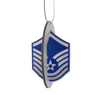 Morgan House Ornament - 3D Air Force Chevron - Color