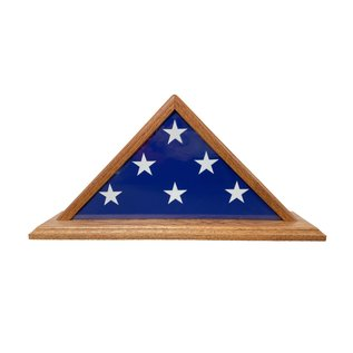 Morgan House 3' x 5' Solid Wood  Flag Case