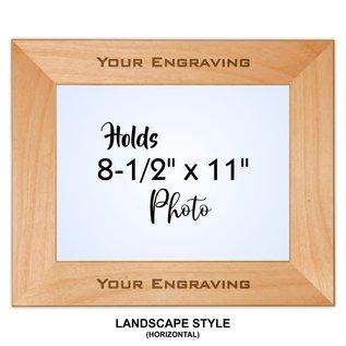 Alder Picture Frame - Square Corners