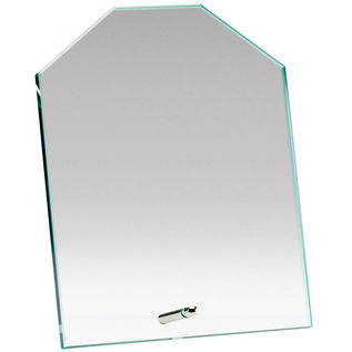 Octogon Glass Plaque