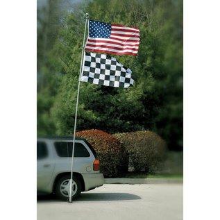 Flag Pole - 16' Fiberglass Tailgater