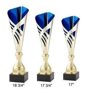 Modern Trophy  Cup Gold / Blue