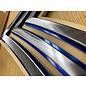 Morgan House MSB-E9AF-Metal - CMSgt Shadow Box with Metal Stripes