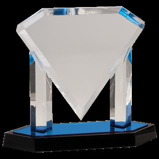 Floating Diamond Acrylic