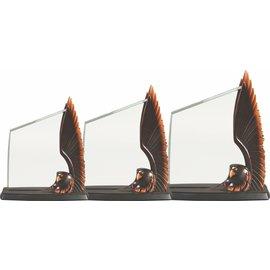 Eagle Resin Holder w/ acrylic plate