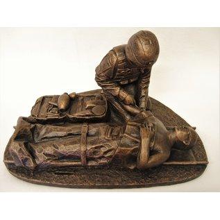 Terrance Patterson Combat Medic Statue