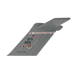 C-17 Tail Flash - Wall Hanging