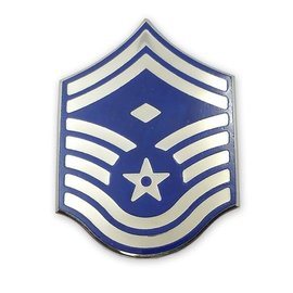 Air Force E8 First Sergeant Chevron Pin