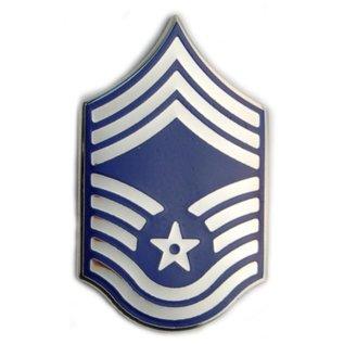 Air Force E9 Chevron Pin