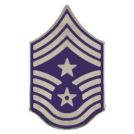 Air Force E9 Command Chief Chevron Pin