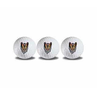 Gunship Golf Ball - Set of 3