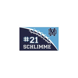 Mater Dei Footbal Flag - Single Sided Personalized