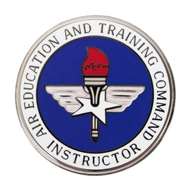 Air Force Badge: Air Education Training Command Master Instructor.