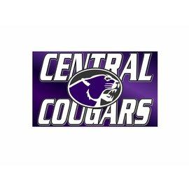 Central Cougars Spirit Flag