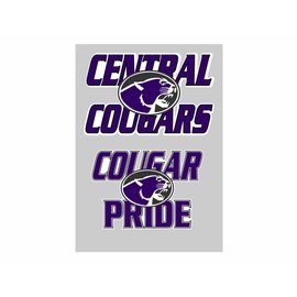 Central Decal -  2 pack