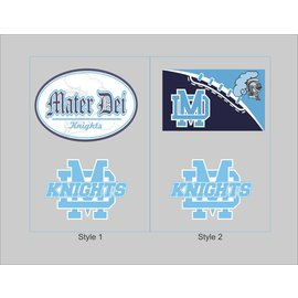Mater Dei Decal -  2 pack