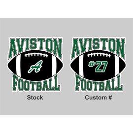 Aviston Football Decal