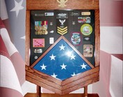 Navy & Coast Guard Shadow Boxes