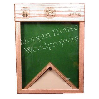 Morgan House Laser Top Shadow Box