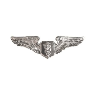 Flight Surgeon Wings Functional Badge