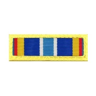 US Air Force Expeditionary Service Ribbon gold border