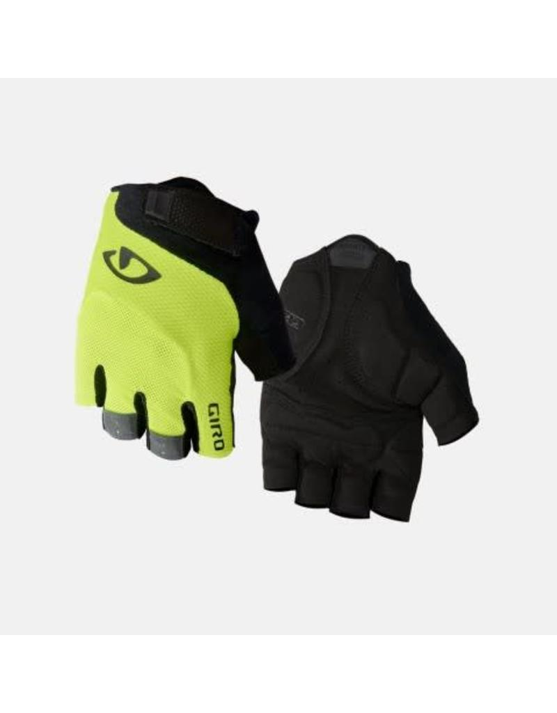 GIRO GLOVE GIRO GEL BRAVO LG YELLOW