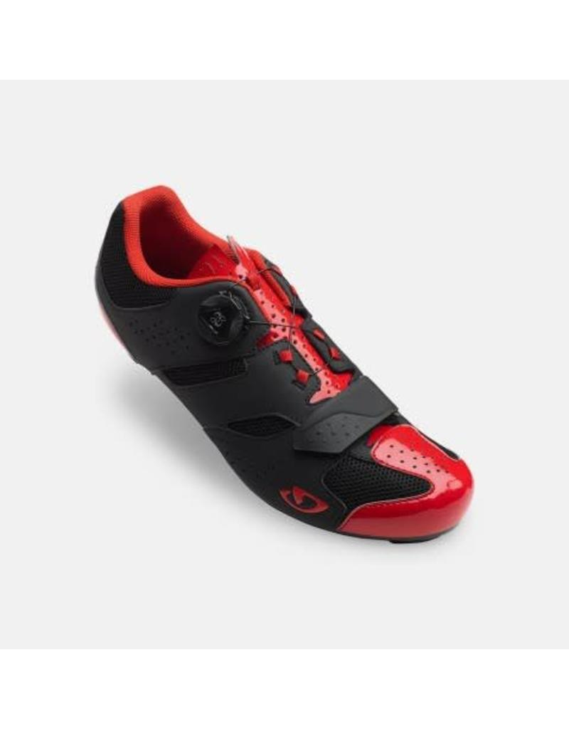 GIRO SHOE ROAD GIRO SAVIX 46 RED/BLK*