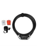LOCK COMBO XLC KIT W/LIGHTS AND BELL