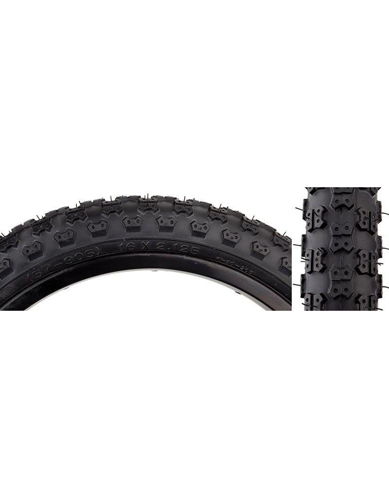 TIRE 16X2.125 BLK KNOBBY