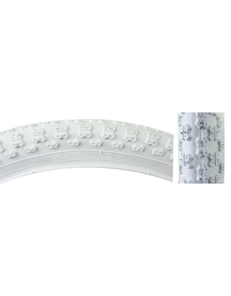 TIRE 20X2.125 KNOBBY WHITE