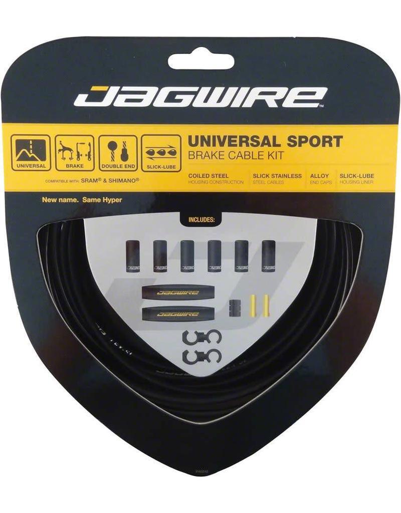Jagwire CABLE SET BRAKE JAGWIRE UNIVERSAL SPORT BLK
