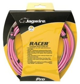 CABLE SET ROAD JAG RACER PINK*