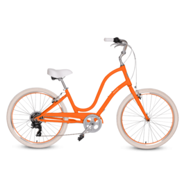 Brooklyn Bicycle Company BROOKLYN BRIGHTON 7 TANGERINE