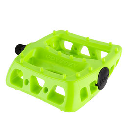 Odyssey PEDAL 9/16 ODY TWISTED PC NEON YELLOW