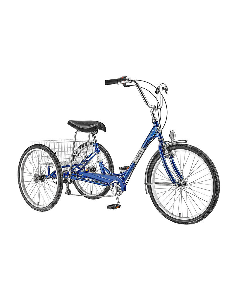 Sun Bicycles TRIKE ADULT SUN TRADITIONAL 7-SPEED BLUE