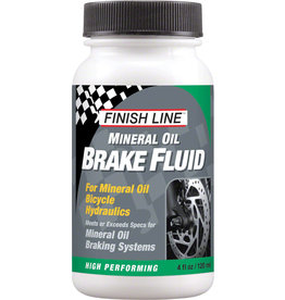 Finish Line LUBE HYDRAULIC BRAKE FINISH LINE MINERAL OIL 4OZ
