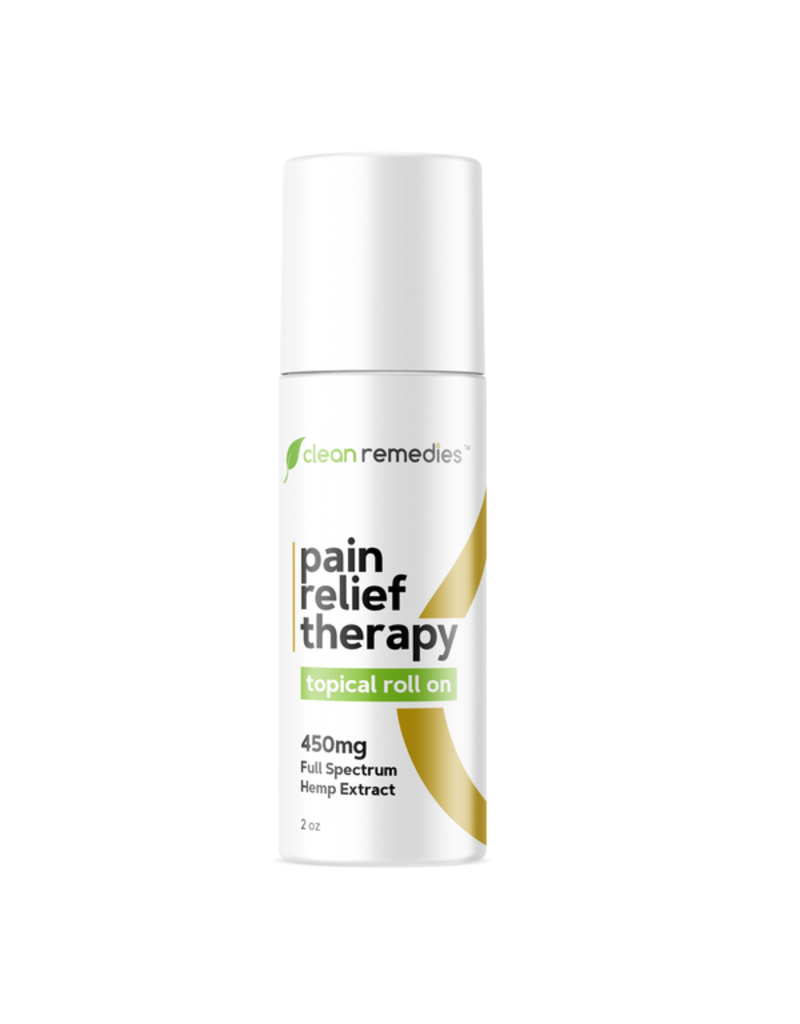 CLEAN REMEDIES FULL SPECT TOPICAL ROLL-ON CBD