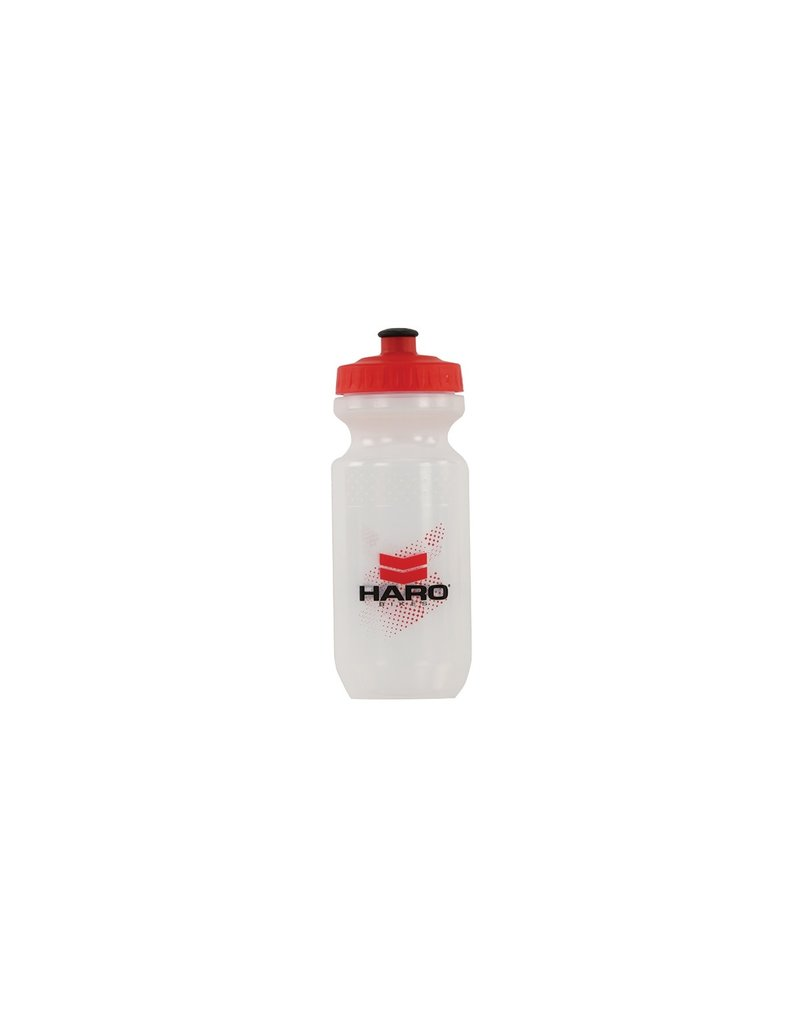 Haro BOTTLE HARO BMX CLEAR/RED 21oz