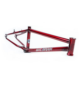 S&M FRAME S&M STEEL PANTHER 21.75 CANDY RED