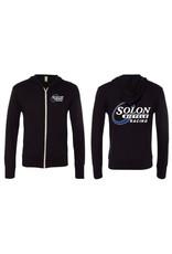 HOODY SOLON RACING SM BLK WARM-UP LIGHTWEIGHT