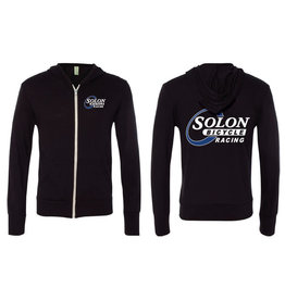 HOODY SOLON RACING XL BLK WARM-UP LIGHTWEIGHT