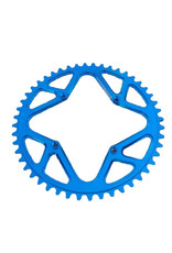 JW Machining CHAINRING BMX 44 104 JW THREADED BLUE