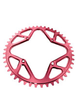 JW Machining CHAINRING BMX 44 104 JW THREADED RED