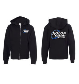HOODY SOLON RACING LG BLK MIDWEIGHT