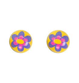 TRICKTOPZ VALVE CAPS TRICKTOPZ FLOWER PU 1pr/PK